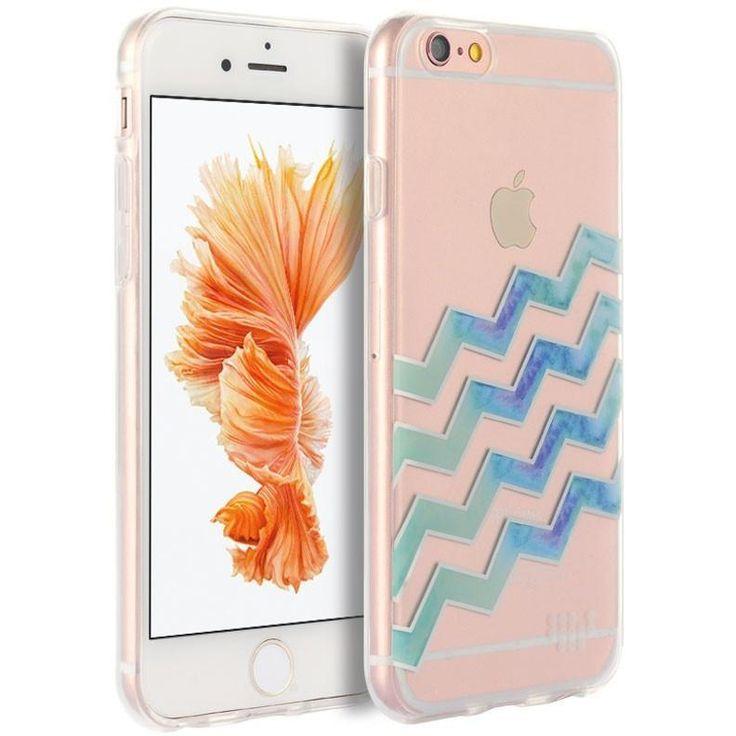 DW iPhone 6/6s Plus Case Premium Watercolor TPU - Wave After Wave