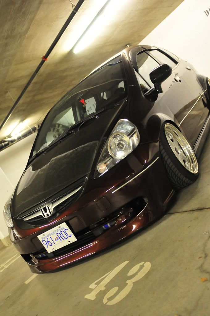 *9UP* Air'd Out Honda Fit GD3 - StanceWorks  http://www.dchhondaoftemecula.com