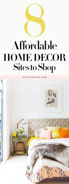 8 Affordable Home Decor Sites every girl should know about   StyleCaster.com