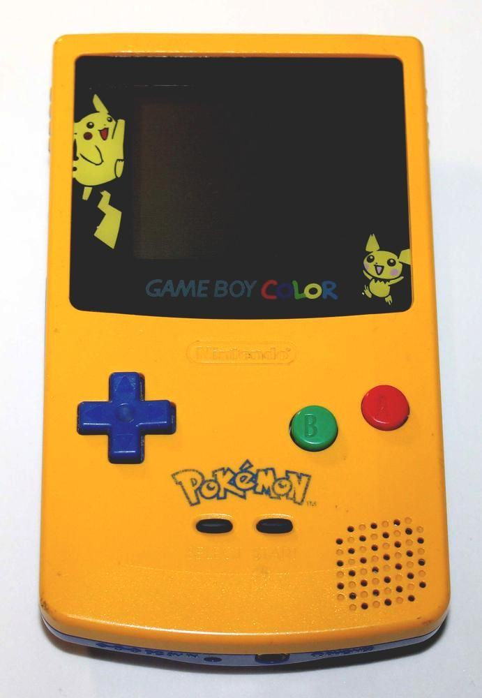 from $8995 - #nintendo Game Boy Color Pokemon Limited Edition Yellow Console Pikachu #gameboy