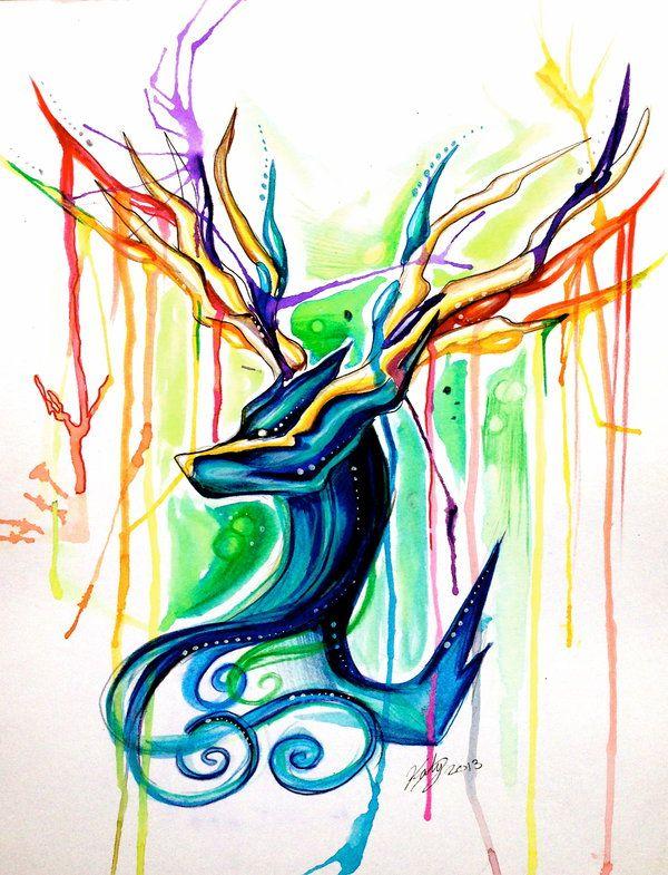 Xerneas by Lucky978.deviantart.com on @deviantART