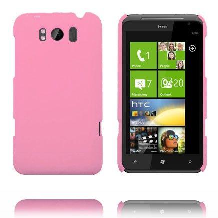 Hard Shell (Vaaleanpunainen) HTC Titan Suojakuori