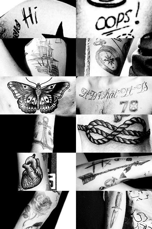 Larry tattoos ♥