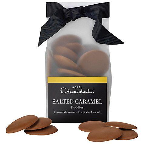 Hotel Chocolat Salted Caramel Chocolate Puddles - £5.50