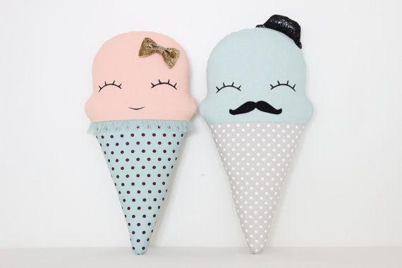 Glace crème coussin coussin de glace Decor de la par ProstoConcept