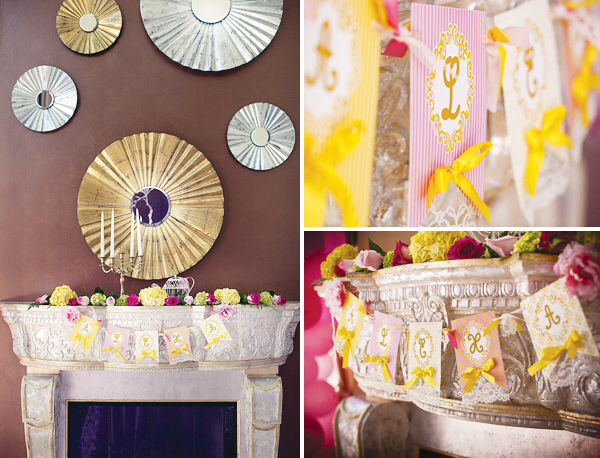 Beauty And The Beast Inspired Princess Party {Part