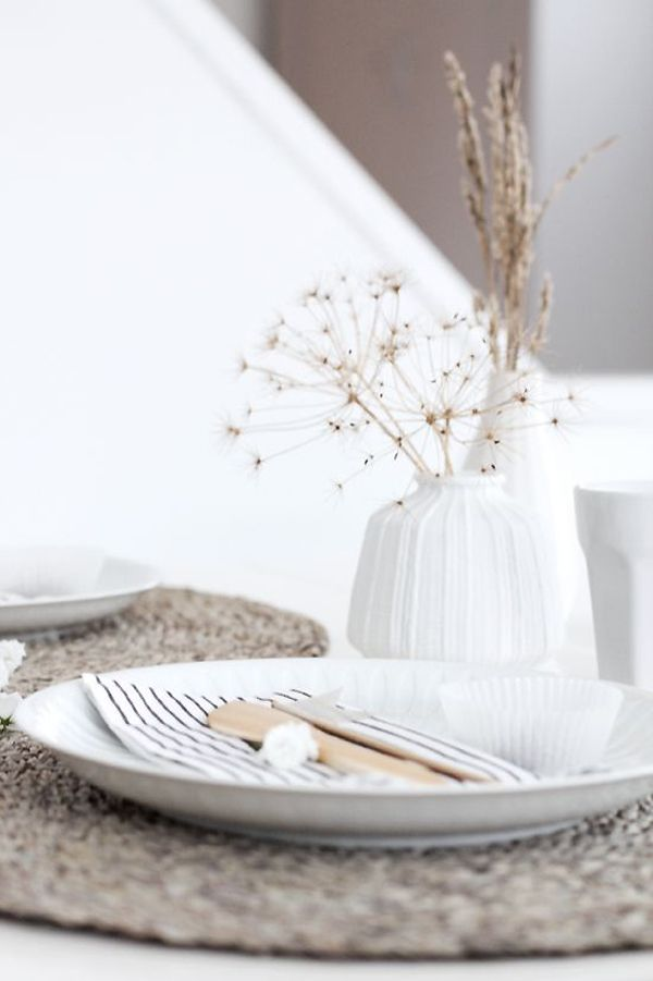 A NATURAL STYLE EASTER TABLE SETTING Notey - Search