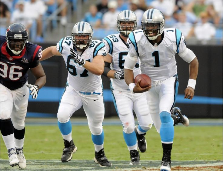 The regular season is upon us! But before we get to excited to place our NFL football betting. Let's take a look back at one key element we should know - Preaseson games. Check out this preseason photo of Carolina Panthers quarterback Cam Newton (1) scrambles as teammates Ryan Kalil (67) and Geoff Hangartner (63) block against Houston Texans' Tim Jamison (96) during the first half of an NFL preseason football game. Visit: www.sportsbook.ag...