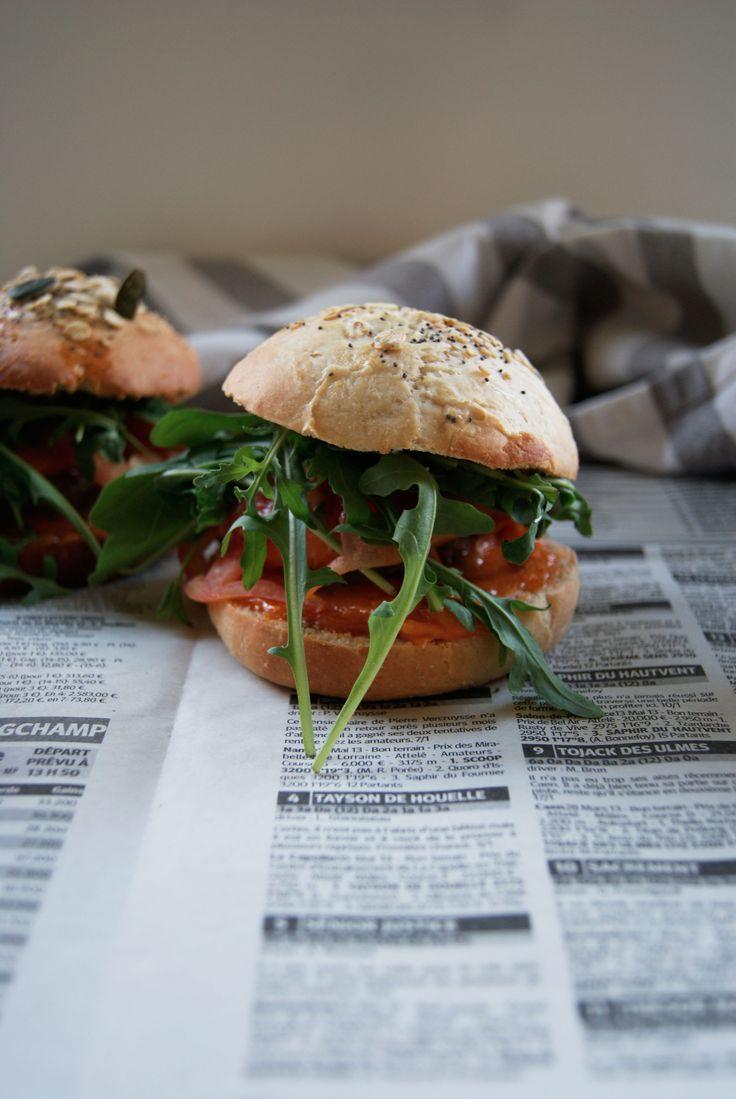 Les mini burgers, meilleurs qu'au Mc Do …   Meg&Cook