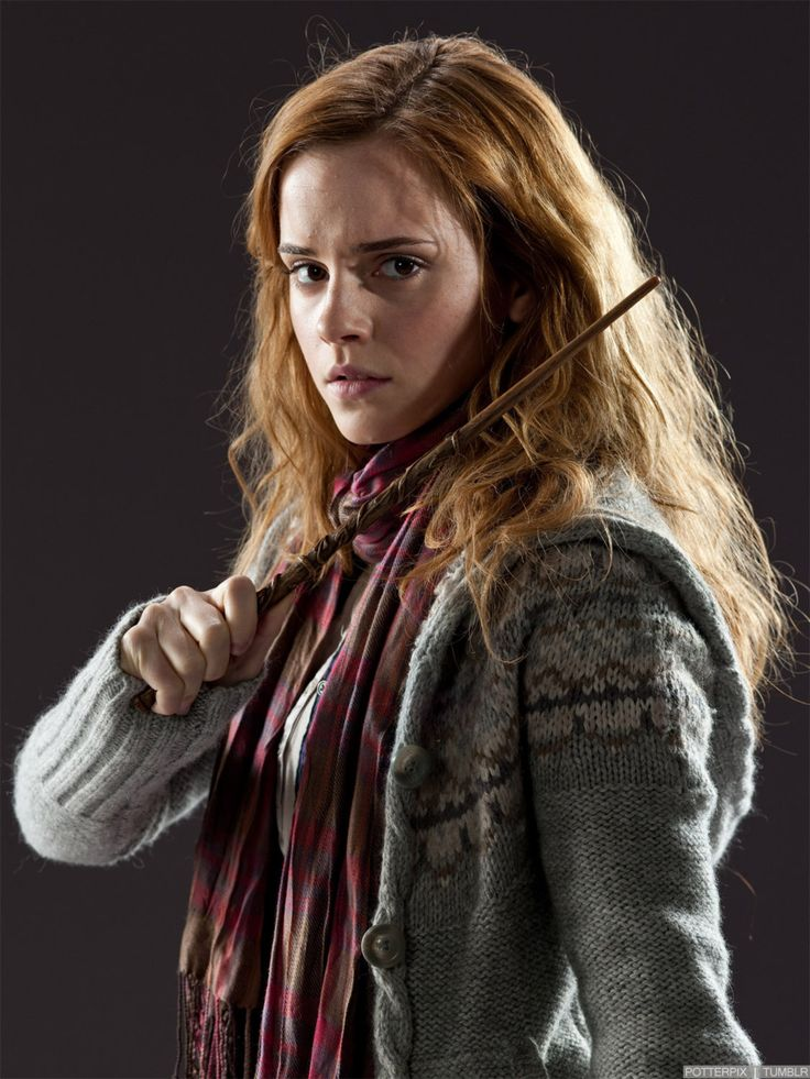 Hermione Granger                                                    You're a little scary sometimes, you know that? Brilliant... but scary.