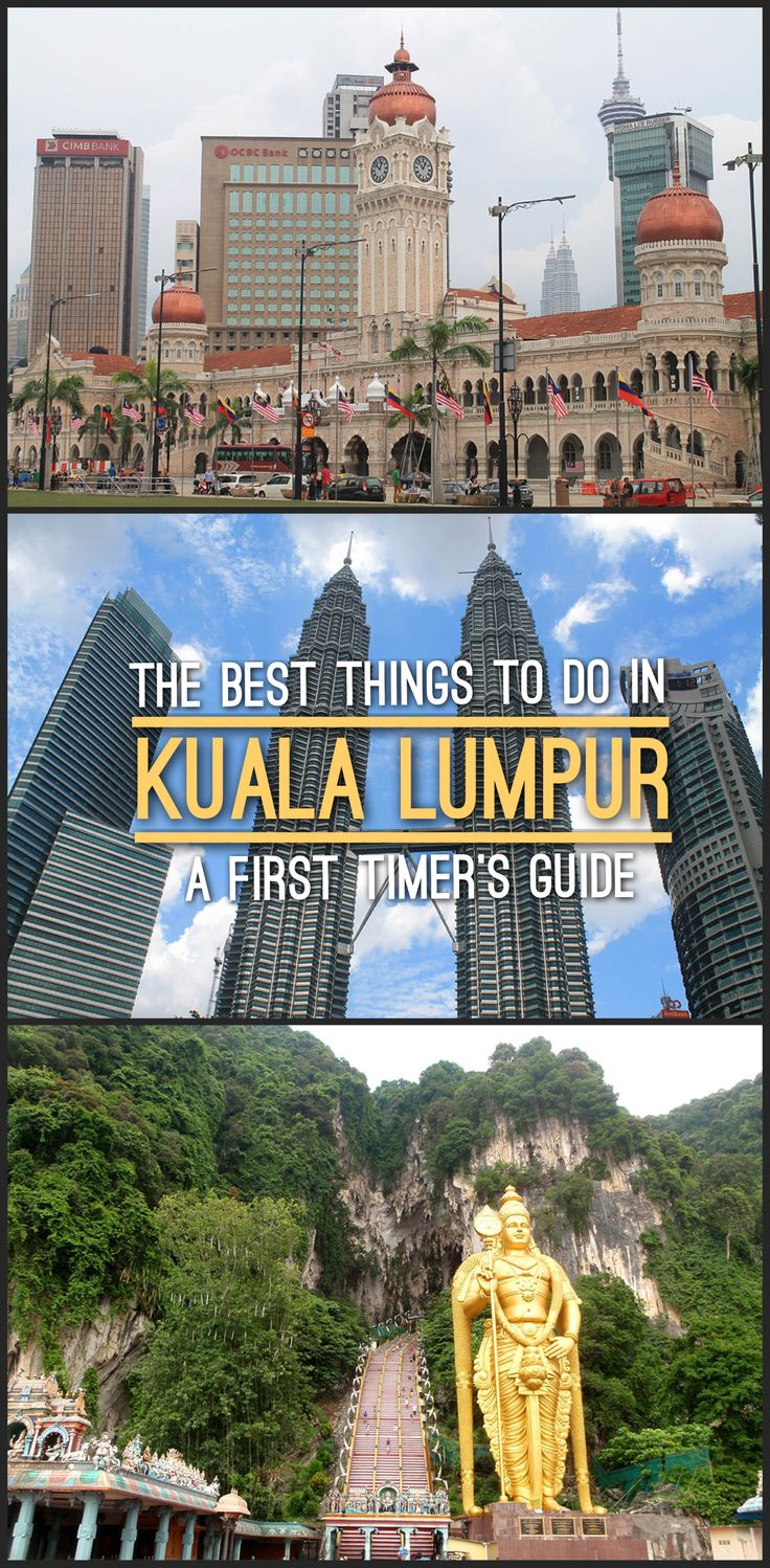 The best things to do in Kuala Lumpur, Malaysia, including Batu Caves and a walk through Chinatown.