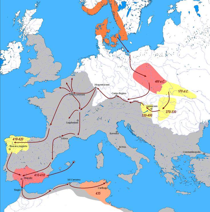 Vandals Migration it - Wandalowie – Wikipedia, wolna encyklopedia