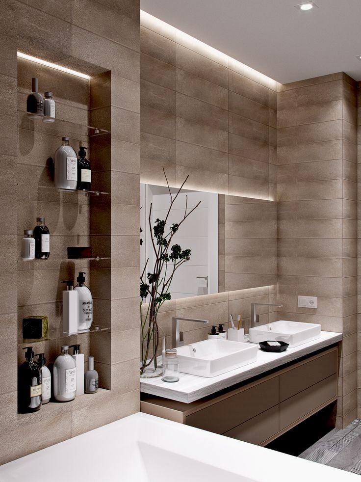Pin By Sahar Masoudi On Home Bathroom Interior Design Small Bathroom Makeover Modern Bathroom Design