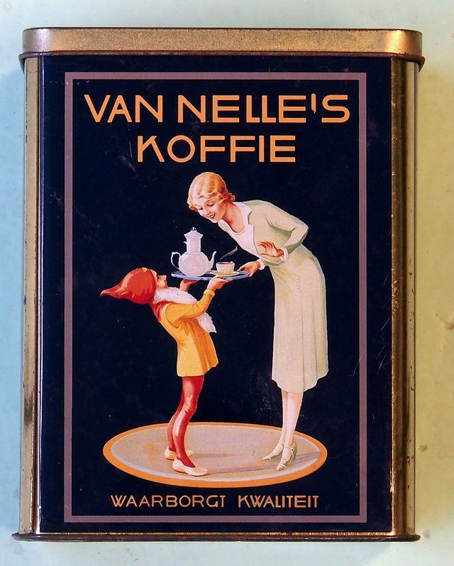 Van Nelle's Koffie / Coffee Art / Coffee Shop Stuff
