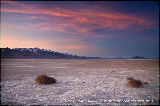 Alvord Desert 2 Stock Image, Harney County, Oregon