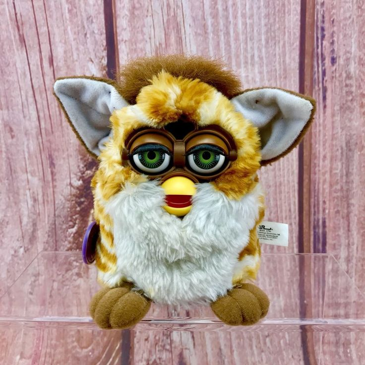 Furby original 1999 tiger electronics interactive talking moving vintage toy