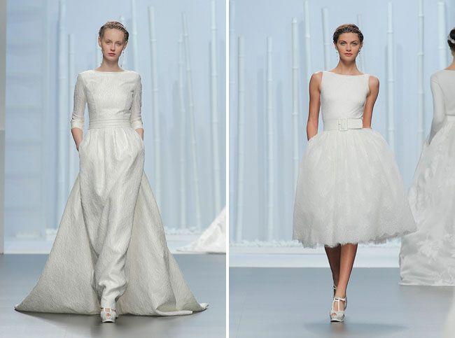 151 best La boda images on Pinterest | Wedding frocks, Bridal gowns ...