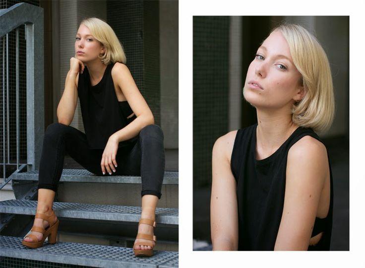 Tereza S. @ Clique Models by Anezka Prikrylova - testshoot