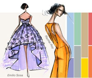 Plan your themes and designs for spring 2014 using Patone's fashion color report! #spring #color