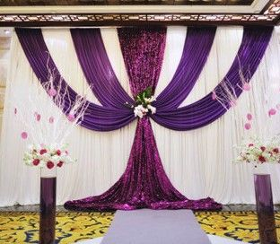 Cheap drape design, Buy Quality swag shirt directly from China swag fabric Suppliers: 	  	  	WE ARE WELCOME YOUR CUSTOMIZED IDEA FOR THE WEDDING DROP ! 	  	Free Shipping ! Romantic White+Purp