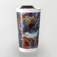 Oil Travel Mug Make your mornings less of a drag, with brightly coloured, and brilliantly patterned travel mugs.