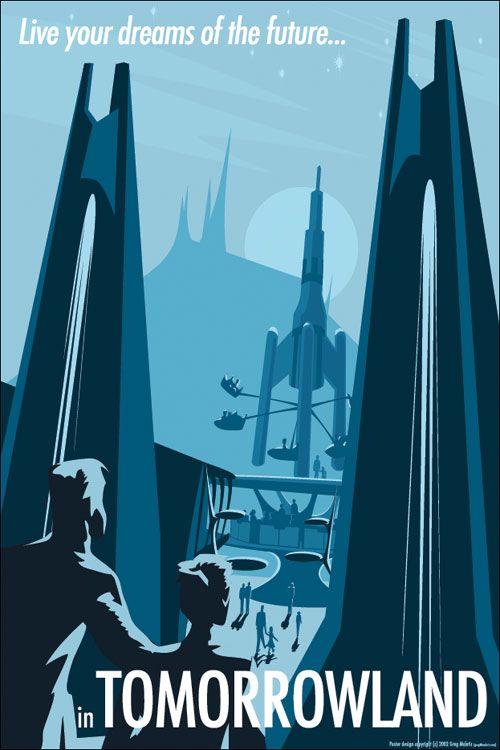 Tomorrowland in Blue