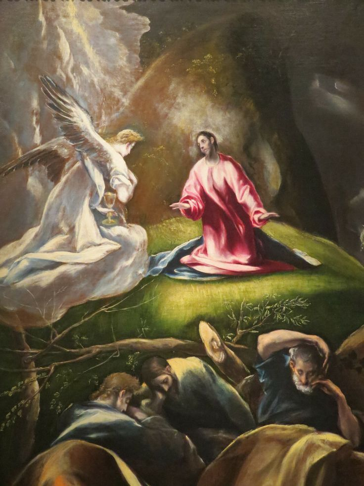 Christ in the Olive Garden c1600  El Greco  WikiArtorg