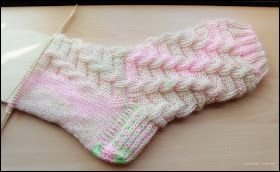 Cable Knit without Needle Needle seen by Kerstin Gr …