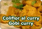 Gobi curry - coliflor al curry :: receta vegetariana