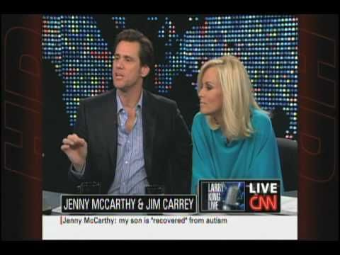 Larry King Live: Jim Carrey & Jenny McCarthy discuss autism