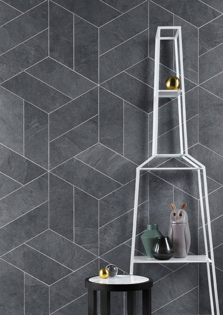 Lea Ceramiche's Waterfall collection replicates the natural properties of slate, and the continuous transformation that natural materials undergo. The system employs Lea Ceramiche's Microban® antimicrobial technology, giving it a high level of pollution-abatement performance. #Cersaie2016