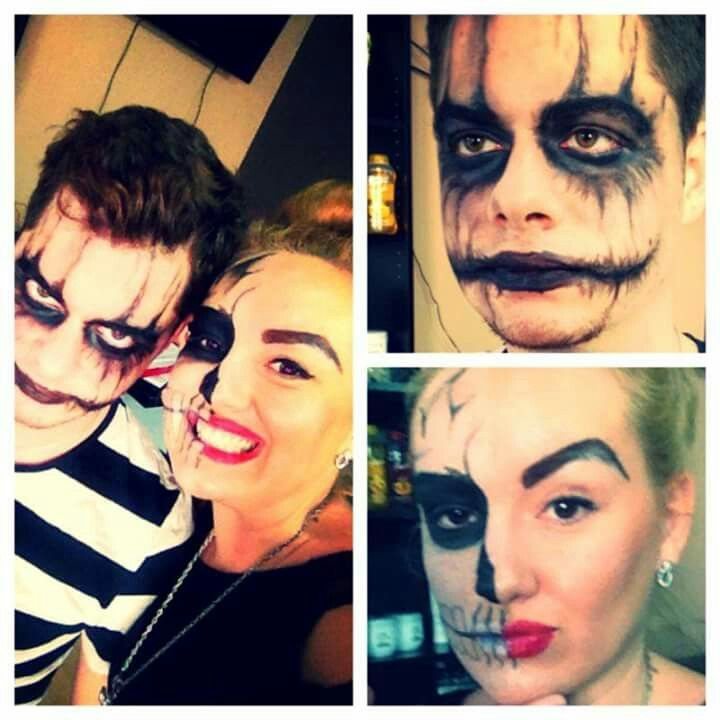#halloween #makeup #party #joker  #danilolusitostudio