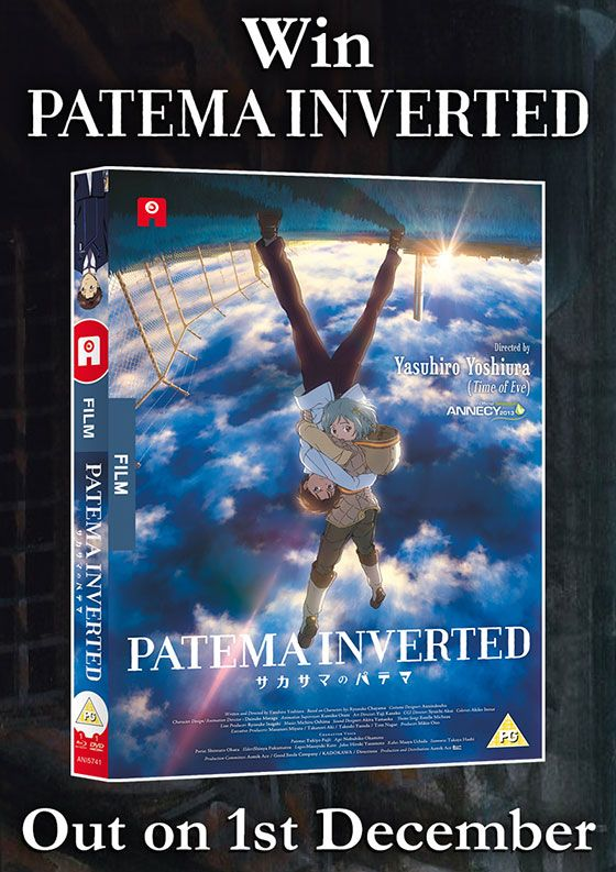 Competition: Win a copy of sci-fi anime 'Patema Inverted'