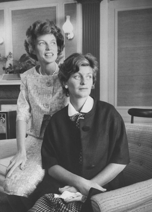 Eunice Kennedy Shriver and Jean Kennedy Smith