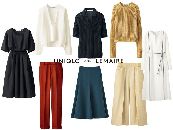 UNIQLO AND LEMAIRE collaboration / Favorite looks / Paper and chic.