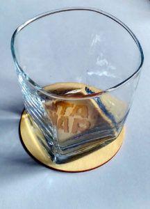 podstawka gwiezdne wojny whisky