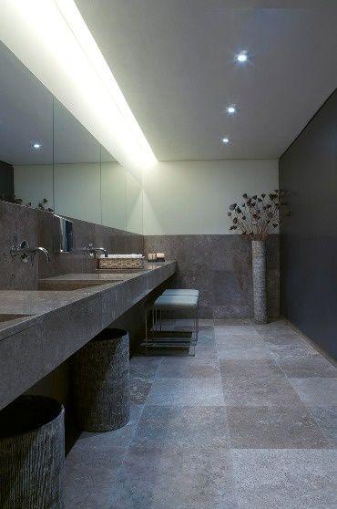 43 best images about barn bathroom on pinterest powder for Restroom design restaurant