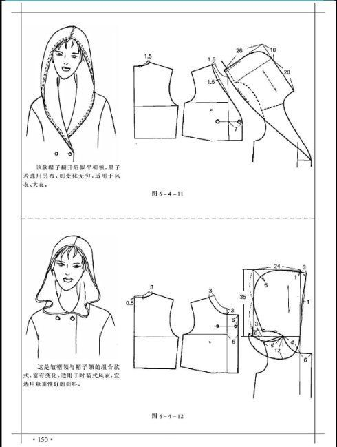 Hoodies | moldes modernos | Pinterest | Costura, Patrones y Vestidos ...