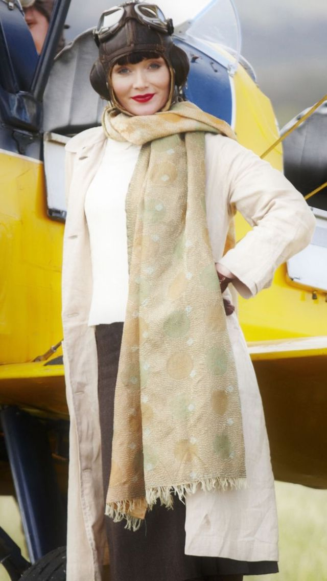 Phryne Fisher ~ Miss Fisher's Murder Mysteries ~ I love everything about her wardrobe!