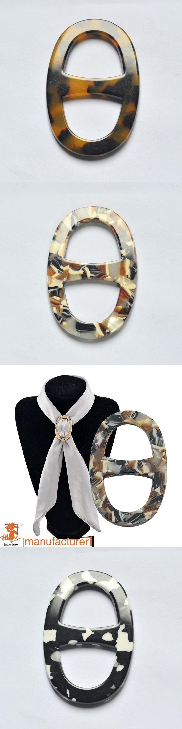 The new ellipse chain.scarves buckle Acetate sheet Han edition popular buckle wholesale scarves, word