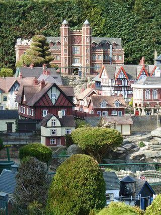 Bekonscot Model Village, quirky little miniature village in Beaconsfield, Buckinghamshire, England (a favourite place of Queen Elizabeth II when she was a child).