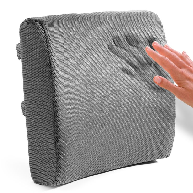 Sofa Mart Memory Foam Lumbar Support Cushion