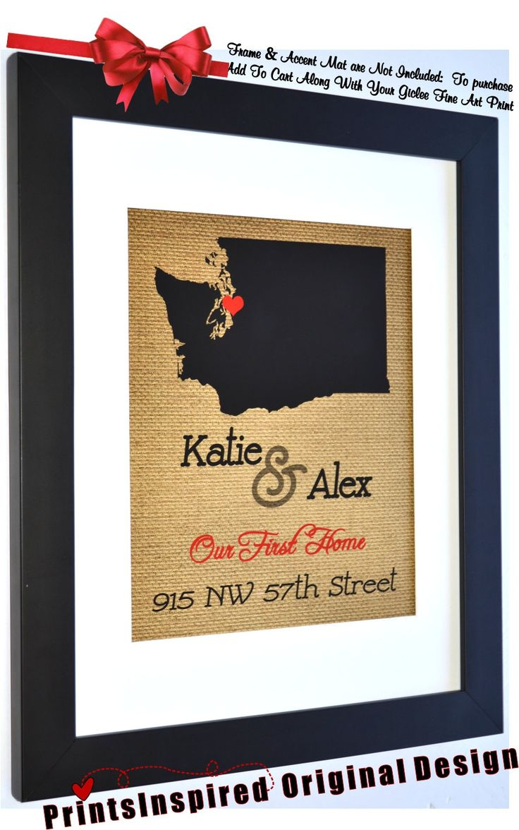 our first house personalized state map print custom quote new home address names unique housewarming - Unique House Gifts