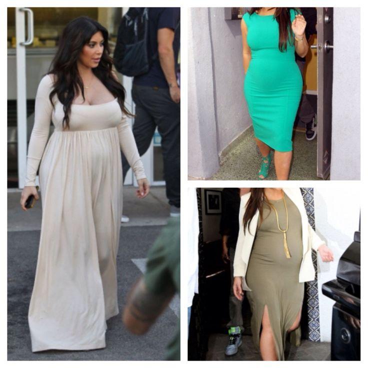 Short sleeve long maternity dress