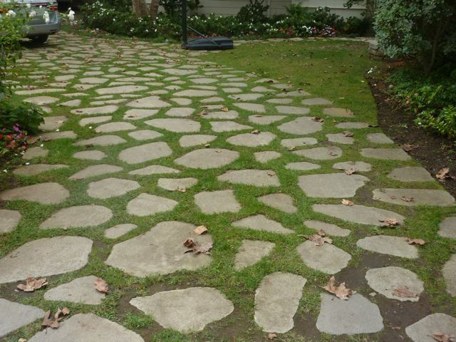Richard L Mosbaugh - Los Angeles, CA, United States. Driveway (Recycled Broken…