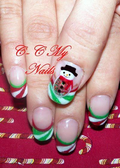 Christmas - Nail Art Gallery Archive - nailsmag.com