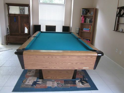 8 Foot Harvard Pool Table
