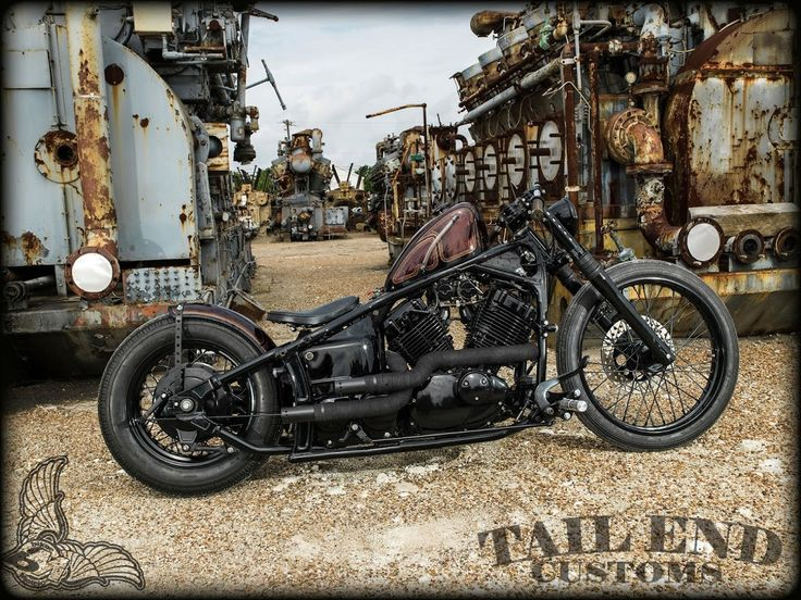 yamaha v-star 650 by tail end customs