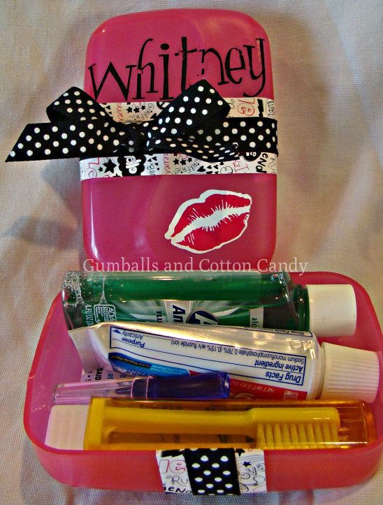 Dental Hygiene Locker Kit-great idea for kids/teens with braces! Lower Merion Pediatric and Adolescent Dentistry, pediatric dentist in Ardmore, PA @ lowermerionpediatricdentistry.com