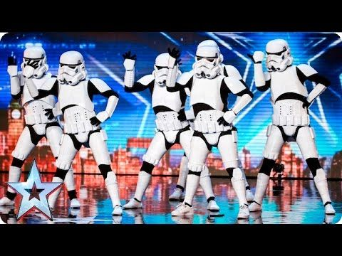 See more from Britain's Got Talent at http://itv.com/talent It's the moment Simon has been waiting for as Boogie Storm bring their dancing Stormtrooper act t...